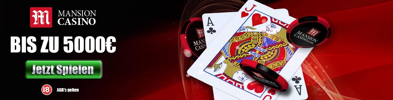 Mansion Casino Header Banner